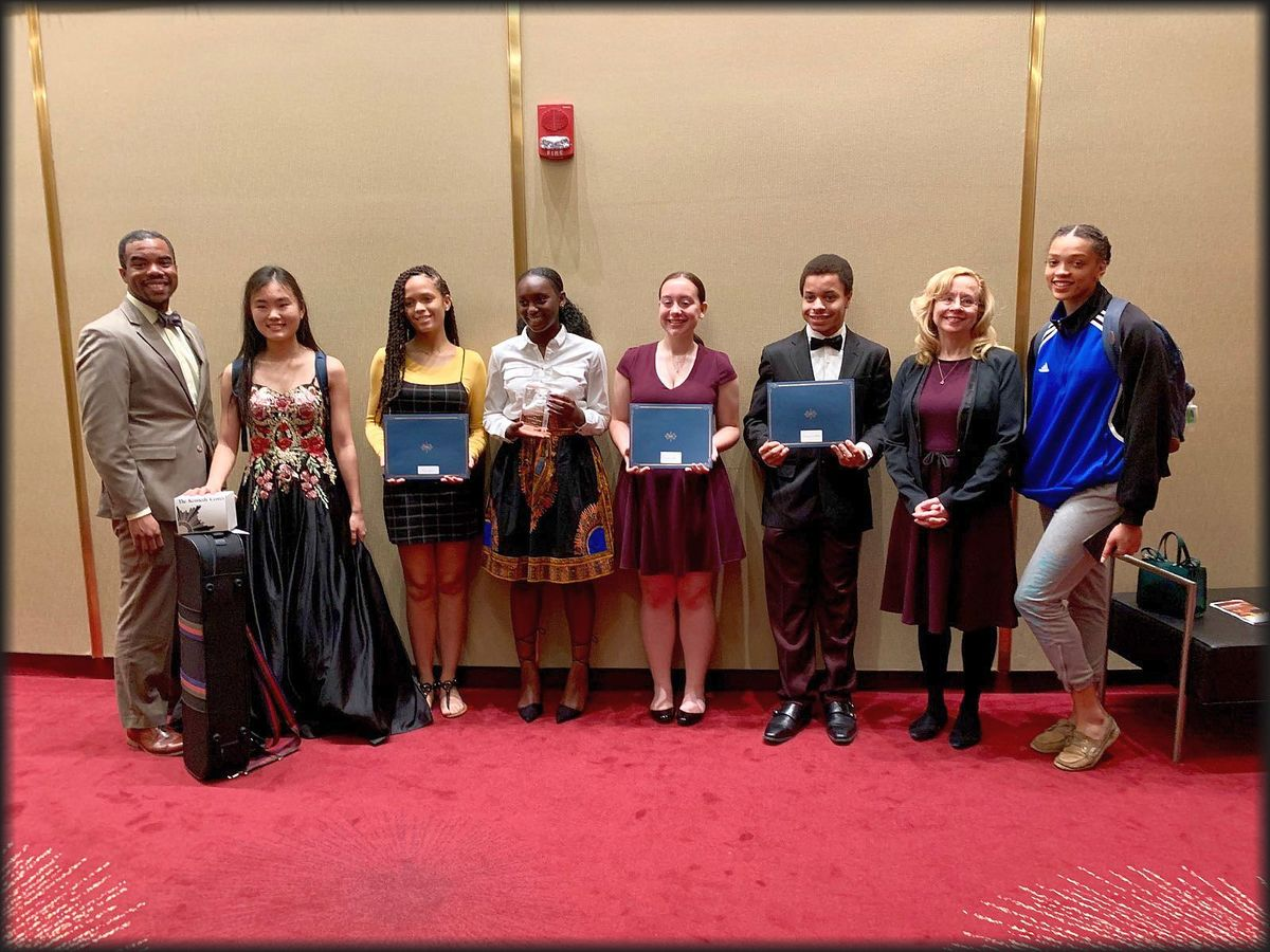 Student Artistry Honored at the John F Kennedy Center for the Performing Arts