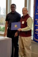 Matthew Payne '19 awarded Rotary Young American Award Scholarship