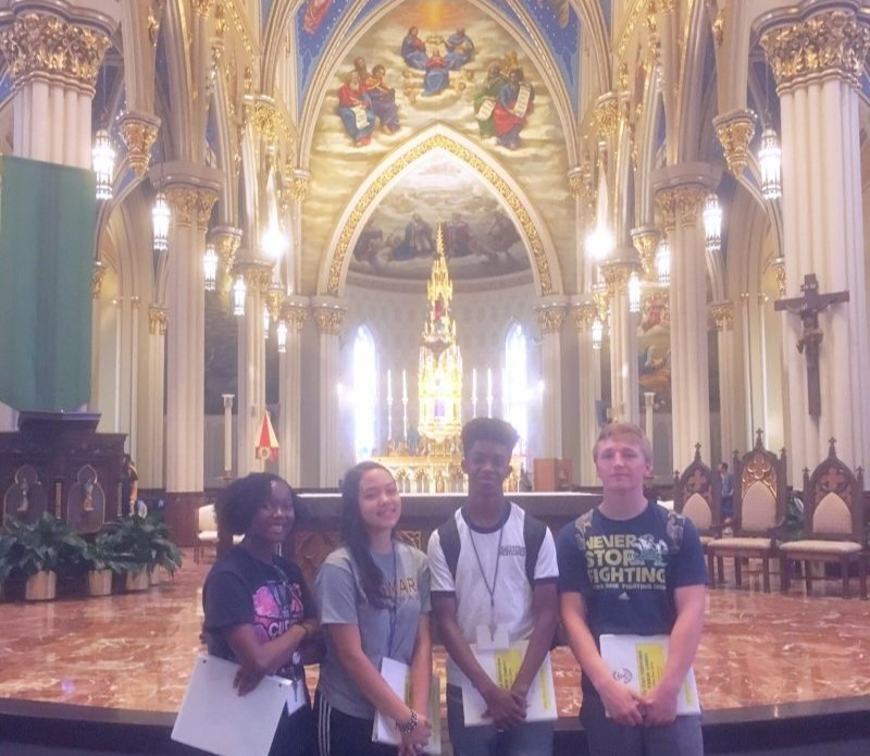 BMHS Students Participate in Holy Cross Conference for Student Leaders