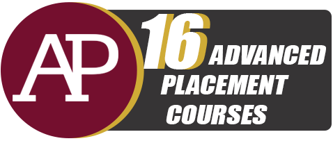 16 Advanced Placement Courses