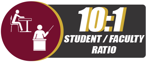 10:1 Student/Faculty Ratio