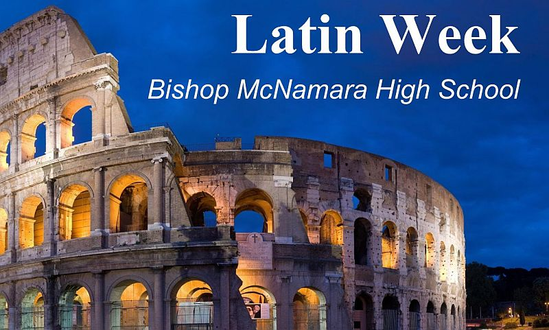 Bishop McNamara High School celebrates Latin Week