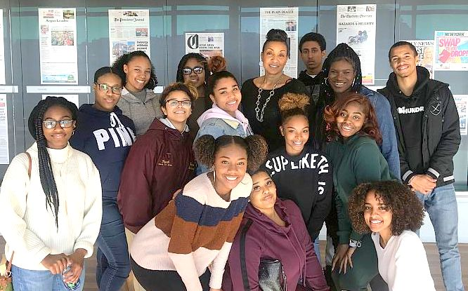 Mrs. Charmayne Clark and members of her Social Studies classes spent a day learning about U.S. Civil Rights and Human Rights