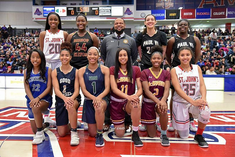Mustangs selected to the 2018 WCAC All League Girls basketball team