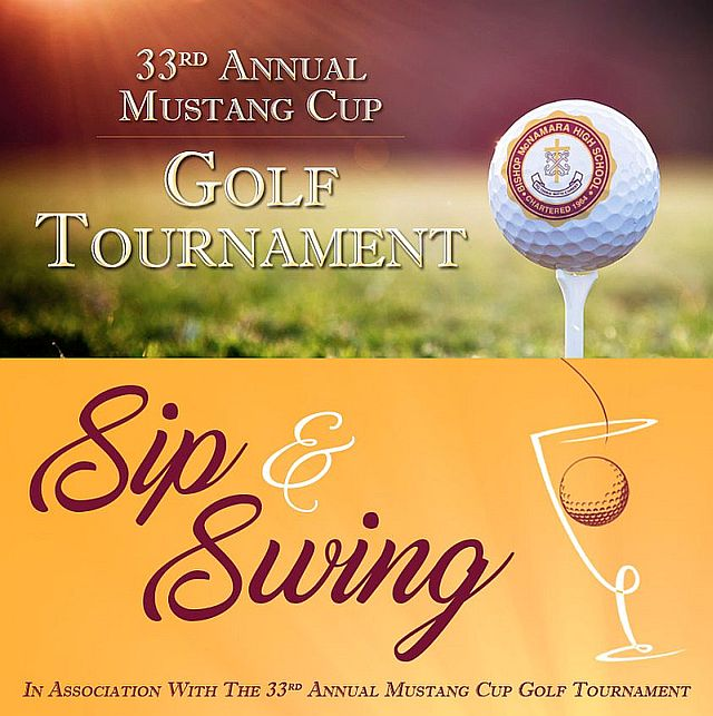 33rd Annual Mustang Cup Golf Tournament/Sip & Swing