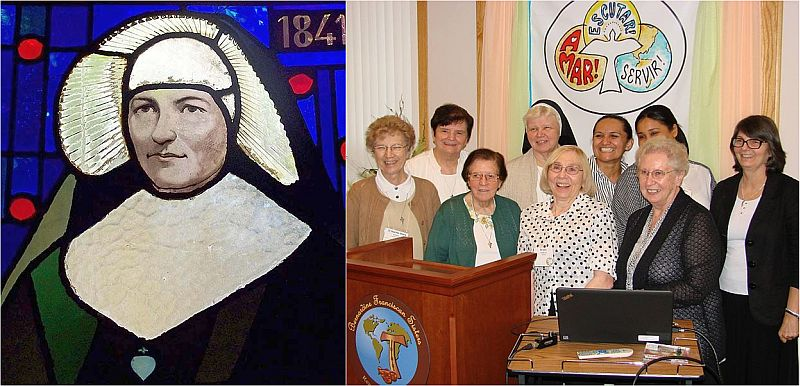 We honor International Women's Day by celebrating the female religious order of Holy Cross and the Bernardine Franciscan Sisters of La Reine