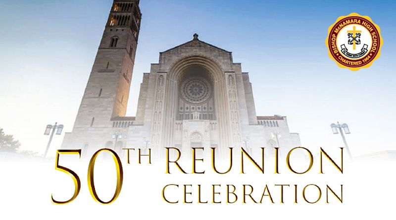 Alumni 50th Reunion Celebration at the Basilica of the National Shrine of the Immaculate Conception