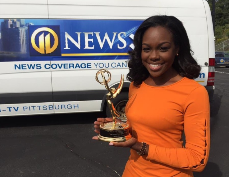 Marlisa Goldsmith '07  received Emmy for her work on the WPXI in Pittsburgh.