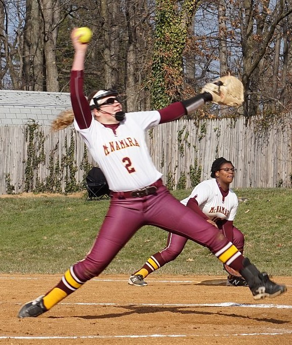 Bailey Wilcox '20 from Bishop McNamara High School Softball Program