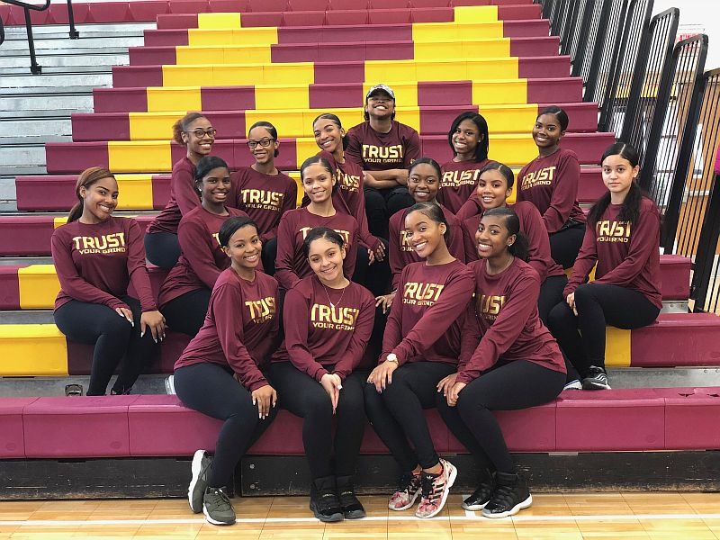 BMHS Dance Team hosts Mid-Atlantic Pom and Dance Competition