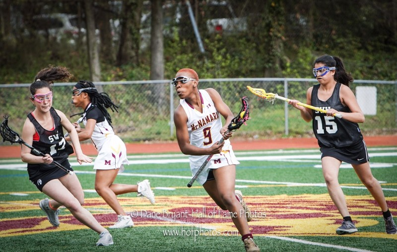 J'Ta Freeman '19 selected to USA Lacrosse regional team for women
