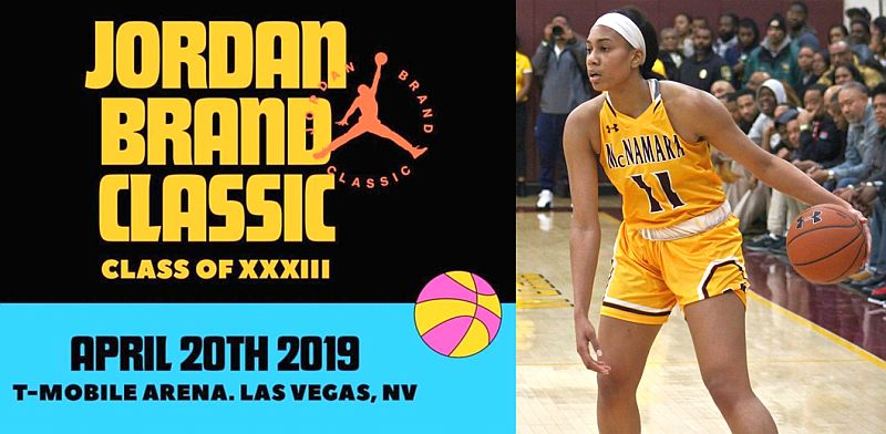 Jakia Brown-Turner '19 selected to Jordan Brand Classic Class of XXXIII Team