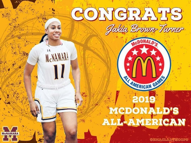 Jakia Brown-Turner '19 2019 McDonald's All-American