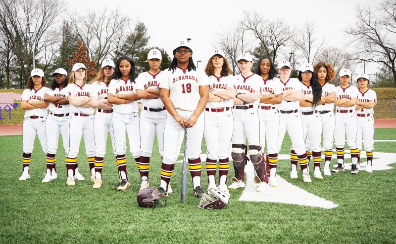 Bishop McNamara High School Varsity Softball Team 2019