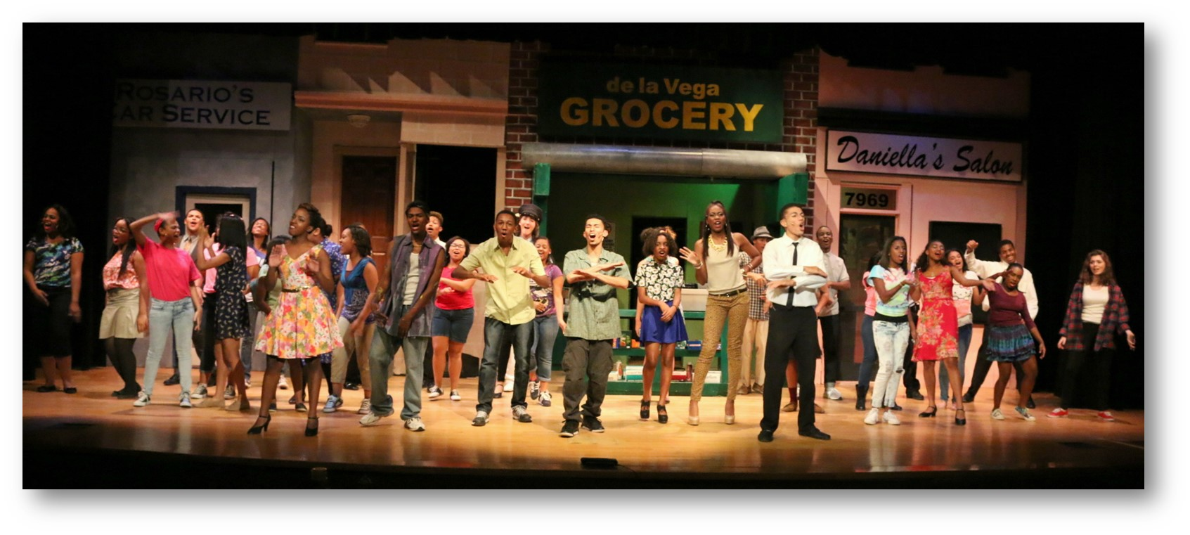 Fall Musical 2014, In the Heights