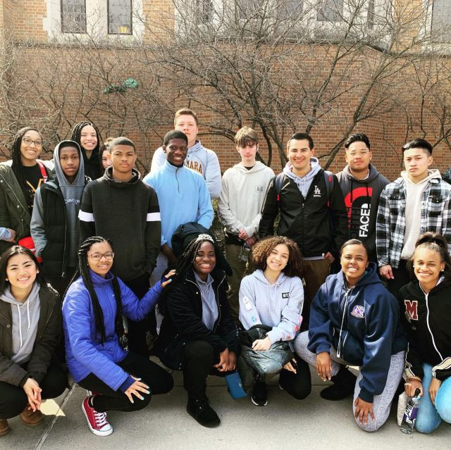 BMHS music students tour the University of Notre Dame