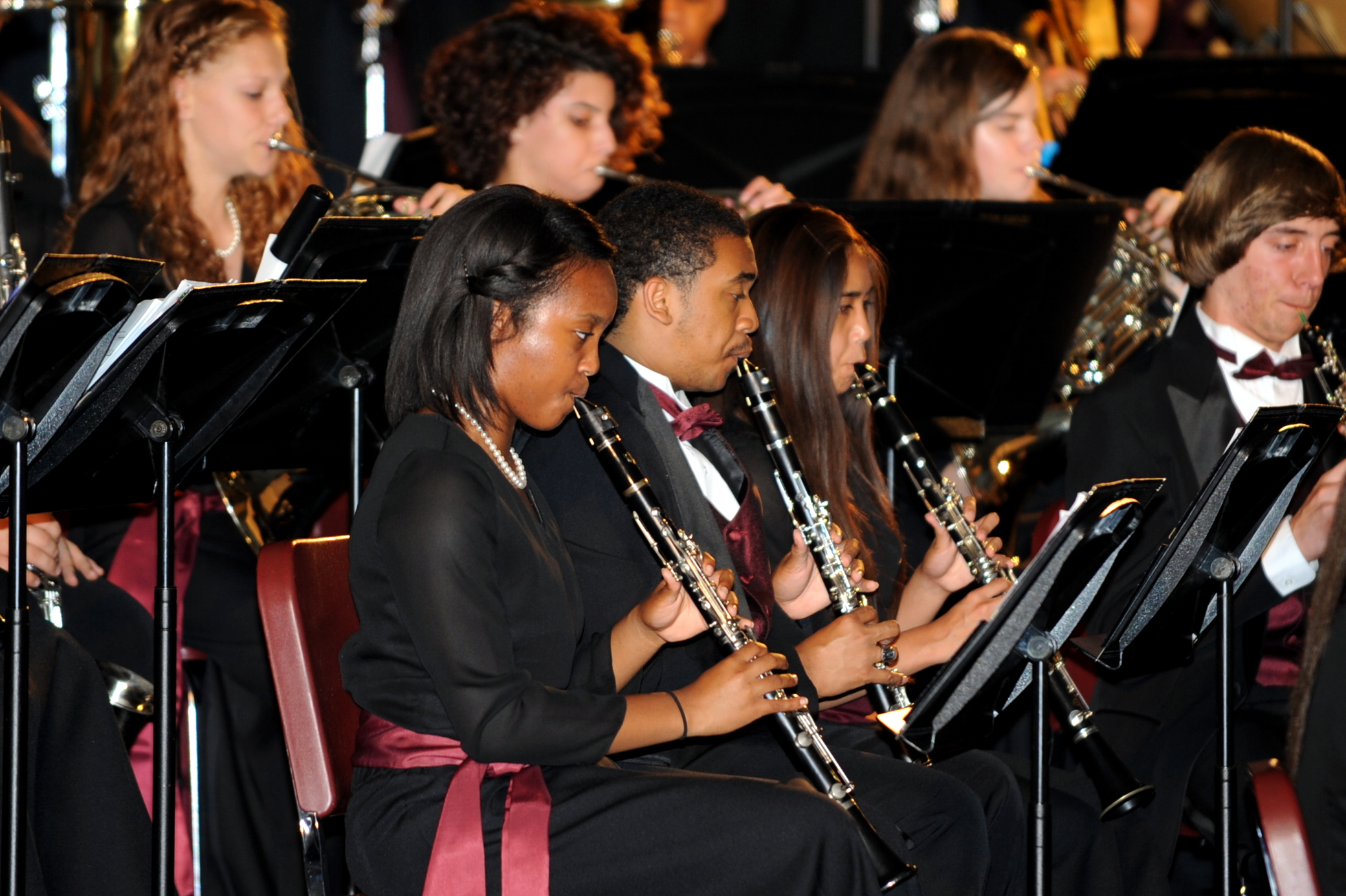 BMHS Band and Orchestra perform