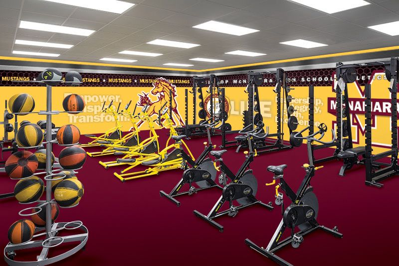Proposed Exercise Gym changes for Bishop McNamara High School